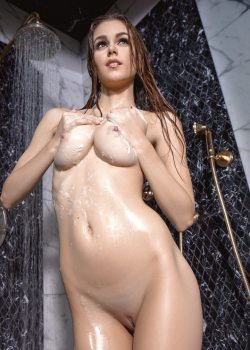 Amberleigh West naked shower