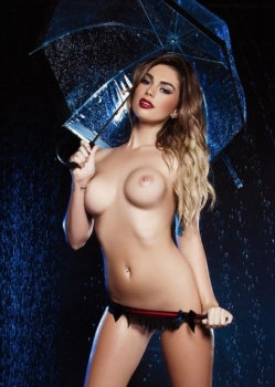 Anika Shay Nude in the rain