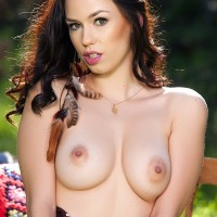 Madi Meadows nude outdoors – Greener Pastures