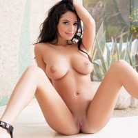 Hailey Lynzz naturally blessed busty brunette nude